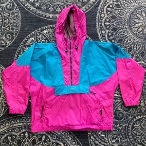 Vintage Columbia Windbreaker